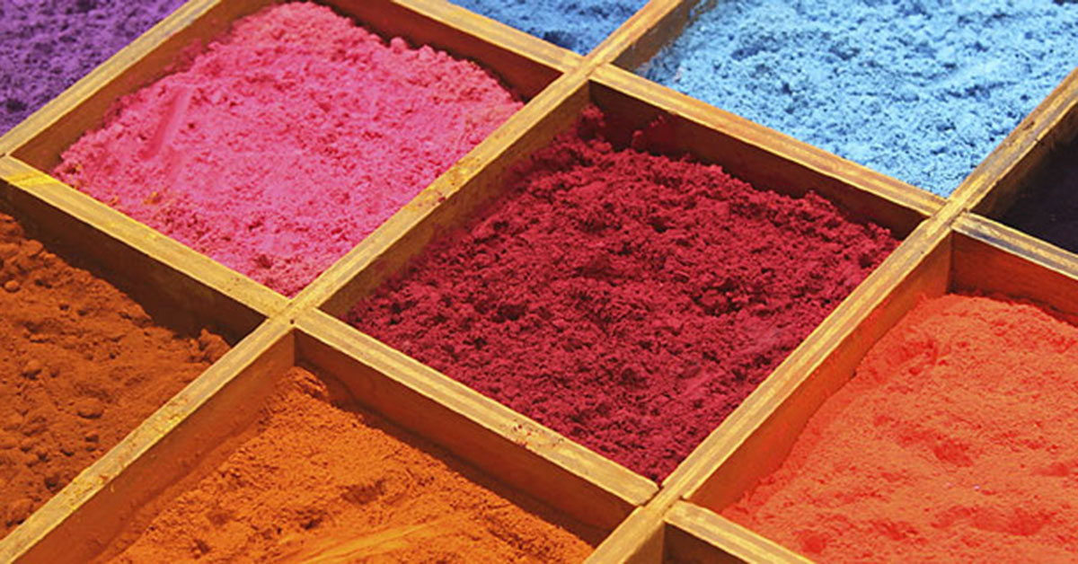 Dating pigments