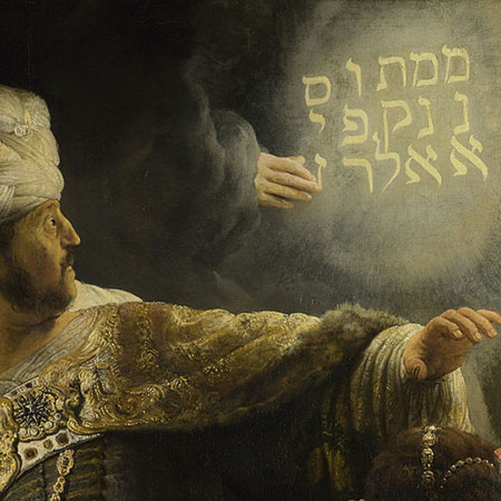 Daniel 5 Belshazzar's Feast And The Writing On The Wall