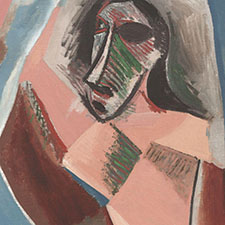 a critical analysis of les demoiselles davignon as a product of pablo picasso Find helpful customer reviews and review ratings for a life of picasso: the cubist rebel, 1907  demoiselles d'avignon  les madimoiselles d' avignon picasso.