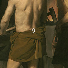 apollo in the forge of vulcan About this work i did this painting after diego velazquez's painting intitled the forge of vulcan apollo is announcing venus' infidelity to vulcan and the blacksmiths.