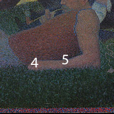 art analysis on georges seurat sunday on la grande janette Georges seurat wall art for home and office decor discover canvas art  detail  from sunday afternoon on the island of la grande jatte by georges seurat.