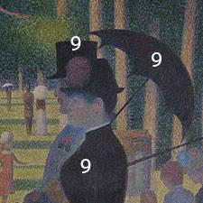 Art analysis on georges seurat sunday on la grande janette