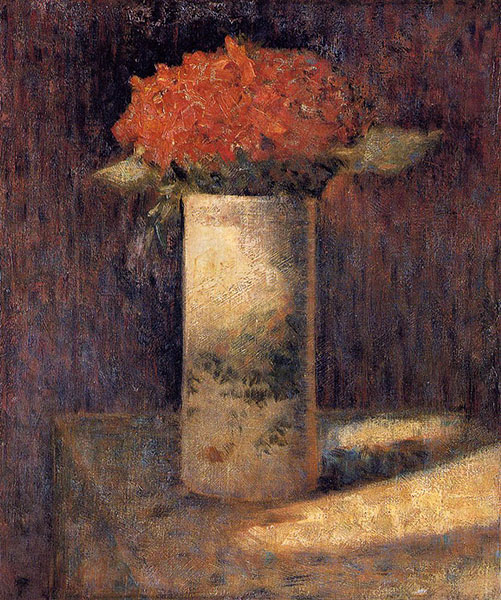Seurat Vase Of Flowers Colourlex