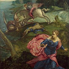 Tintoretto, St George and the Dragon
