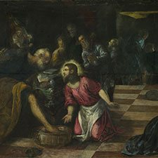Tintoretto, Christ Washing the Feet