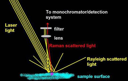 raman spectroscopy colourlex art and science