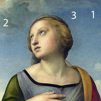 raphael saint catherine of alexandria colourlex