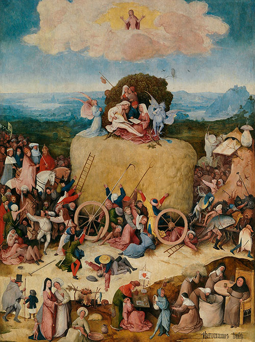 88561d6d4b8 Hieronymus Bosch The Hay Wain center