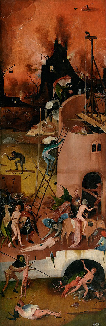 e4db503ccce Hieronymus Bosch The Hay Wain-Triptych-right