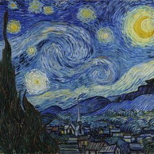 Van Gogh, The Starry Night | ColourLex