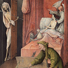 Hieronymus Bosch, Death and the Miser