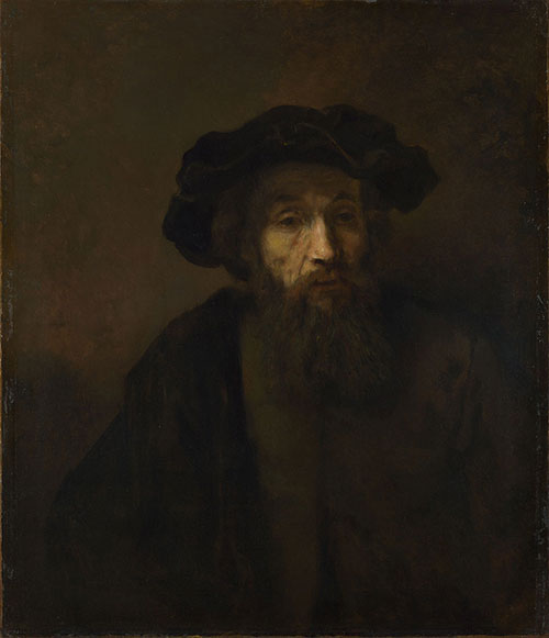 Man In A Blue Cap Painting